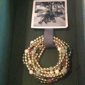 Anthropology bracelets never worn